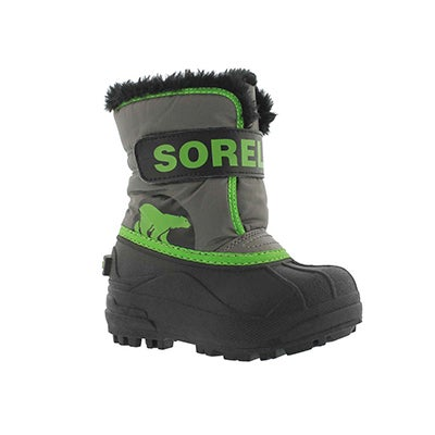 Inf Snow Commander quarry/grn boot