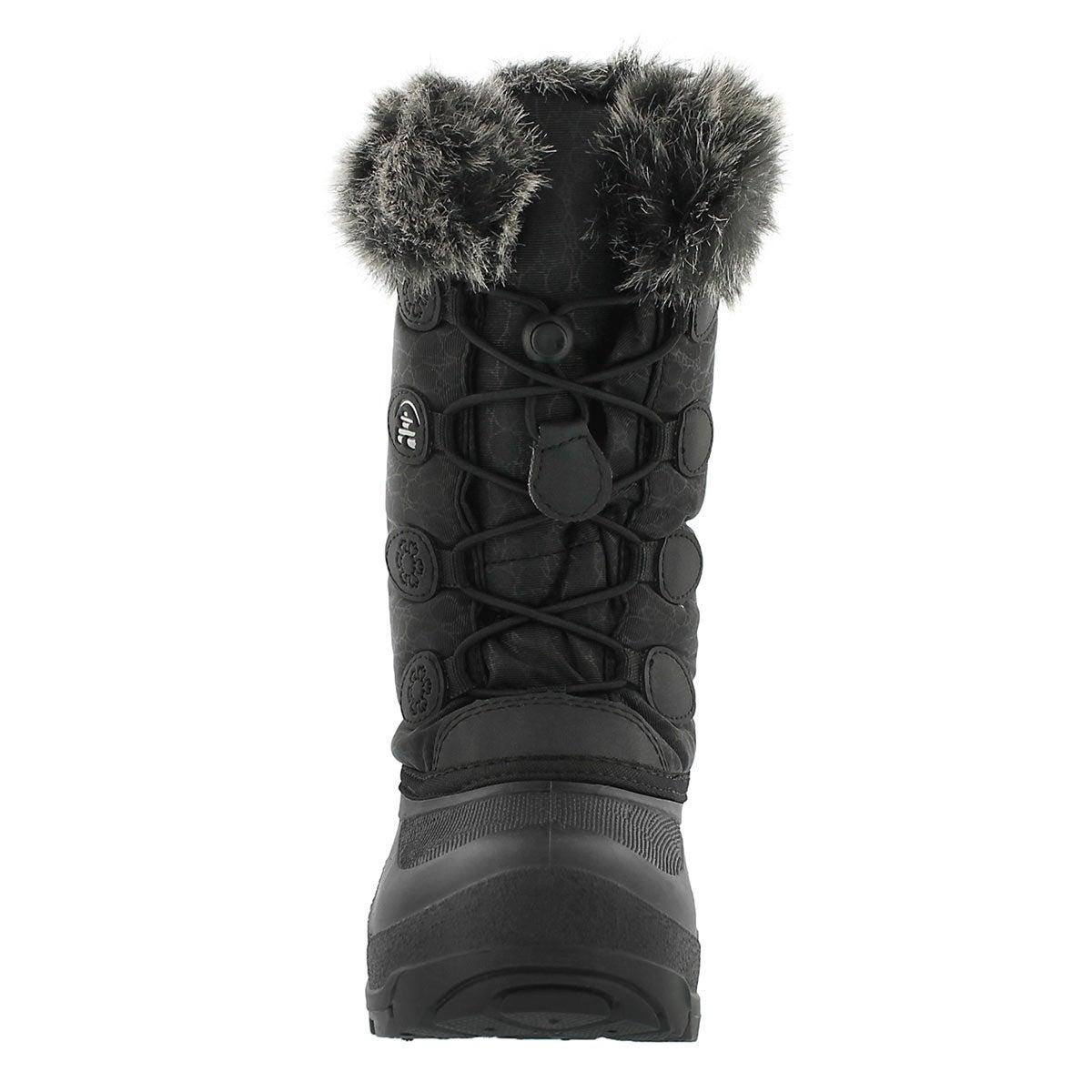 Grls Snowgypsy blk winter boot
