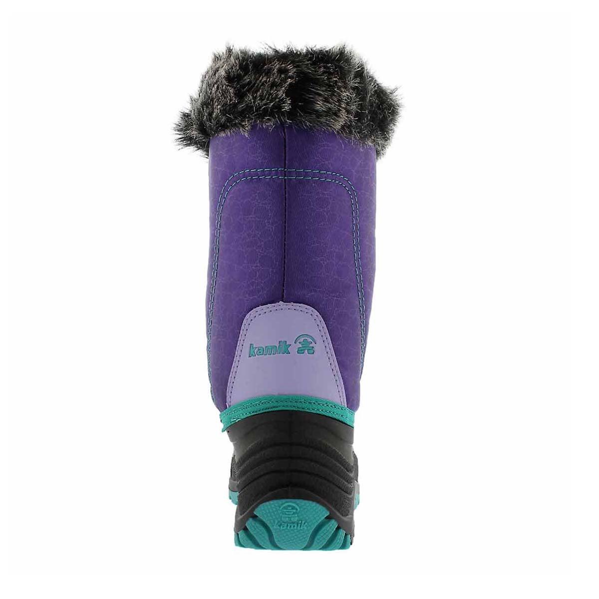 Grls Snowgypsy purple winter boot