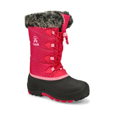 Grls Snowgypsy 3 rose wtpf winter boot