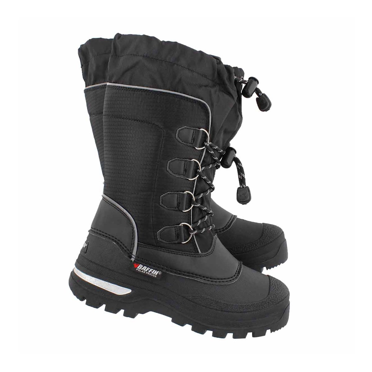 Bys Pinetree blk wtpf winter boot