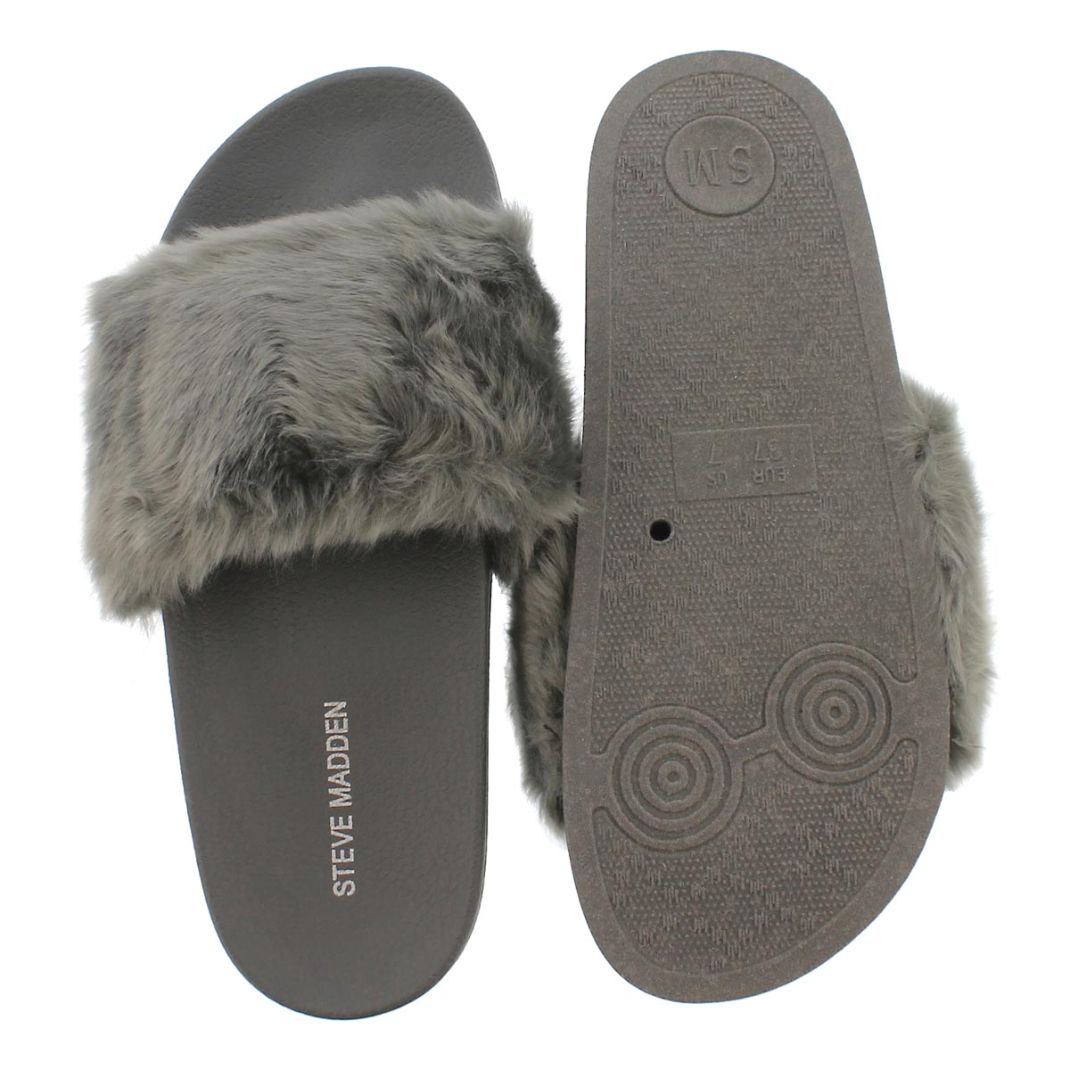 Creative Women39s Fur Fluffy Slides Marabou Mules Sandals Feather Slippers Home