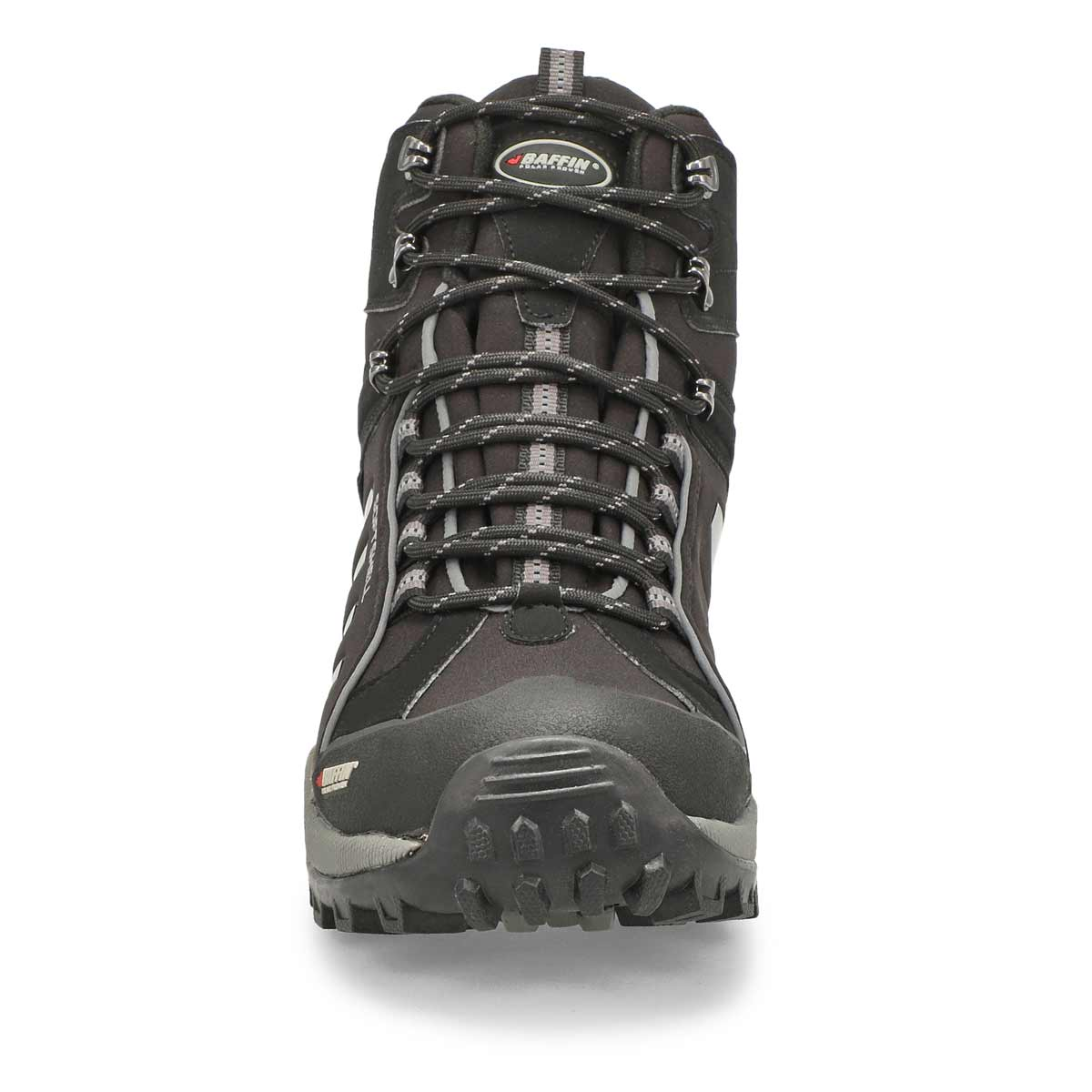 Mns Zone blk wtpf lace up winter boot