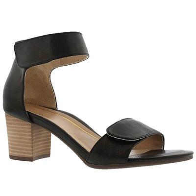 Lds Solana blk arch support dress sandal