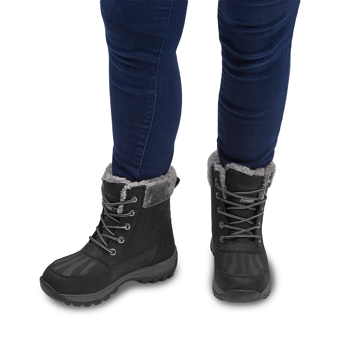Lds Sophie black wtpf winter boot