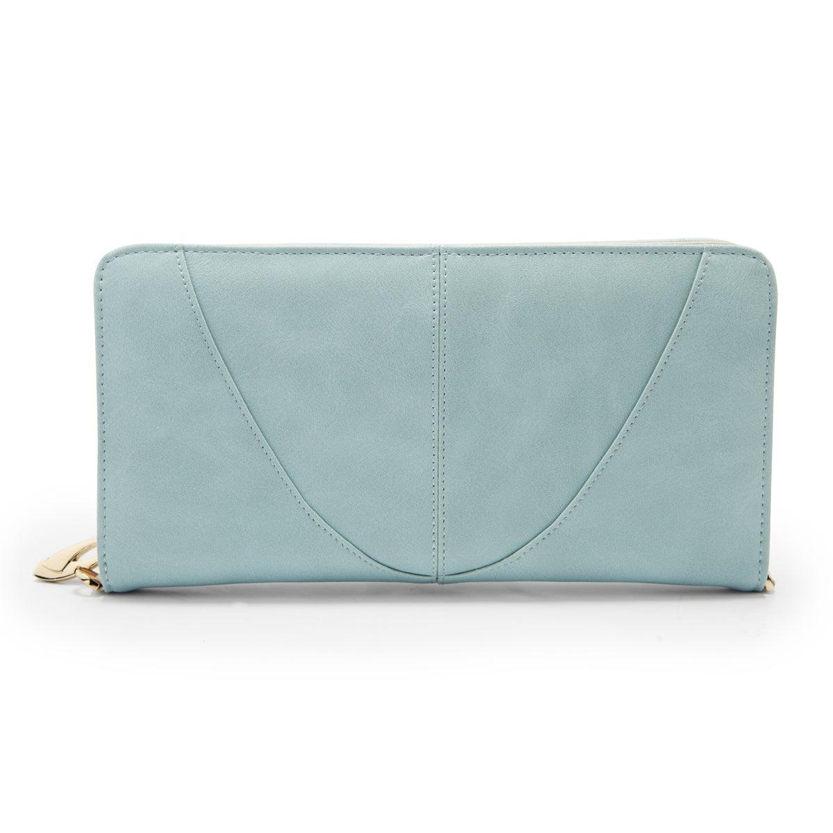 Portefeuille convertible, bleu, femmes