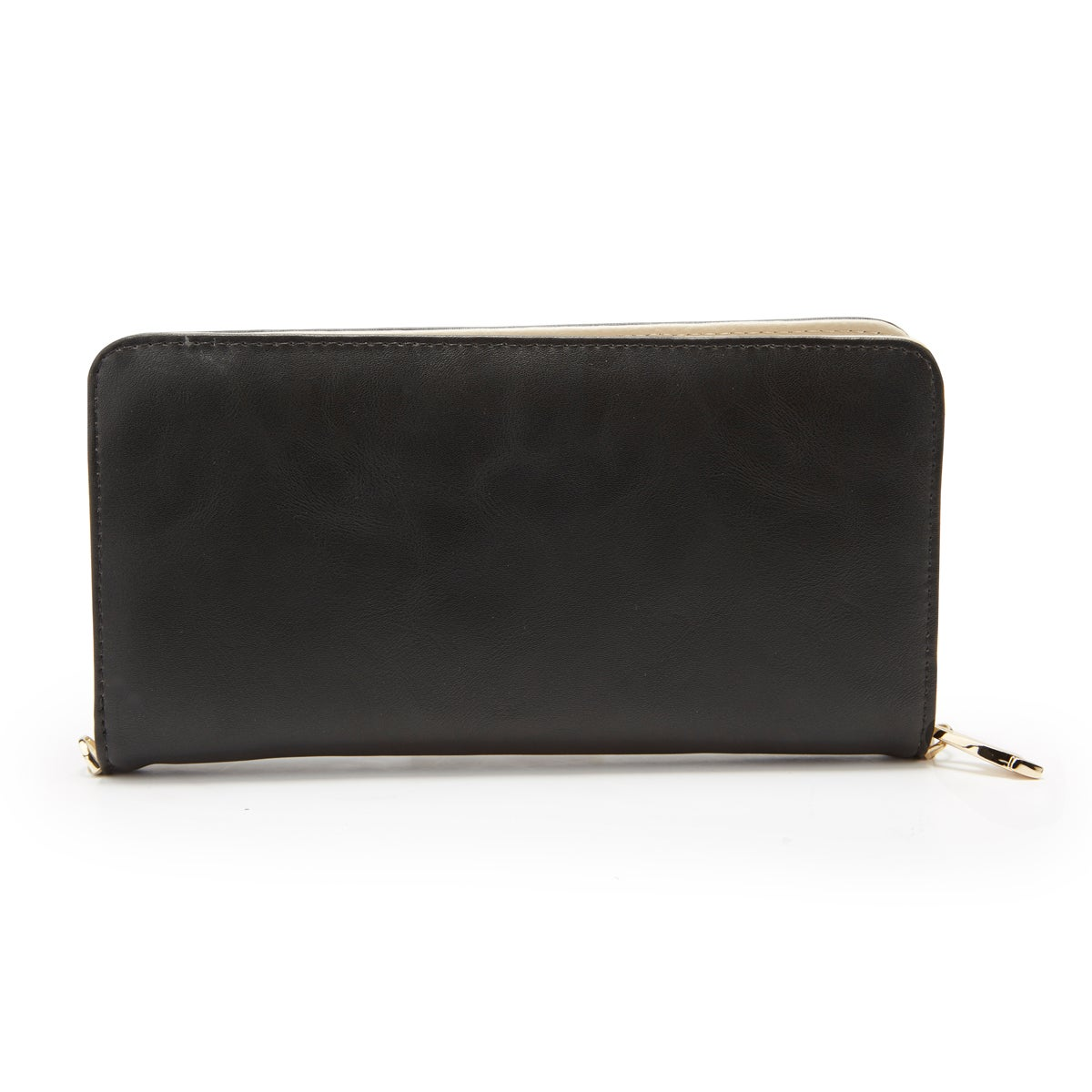 Lds black zip around convertible wallet