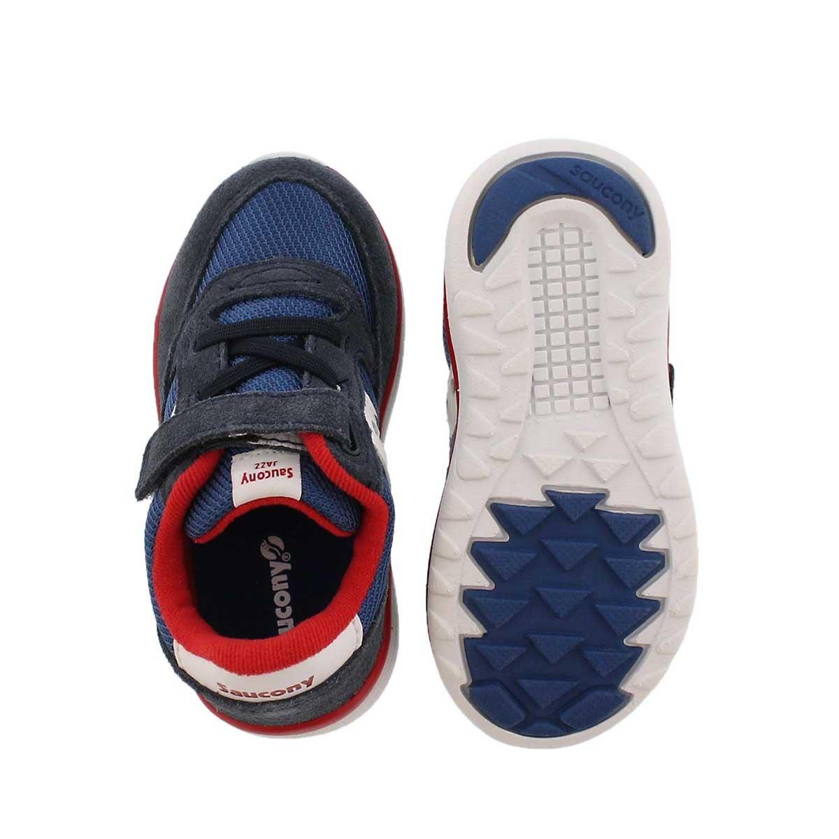 Infs-b Jazz Lite nvy/rd sneaker- wide