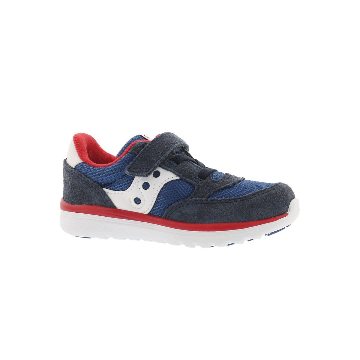 Infants' JAZZ LITE navy/red sneakers -  Wide