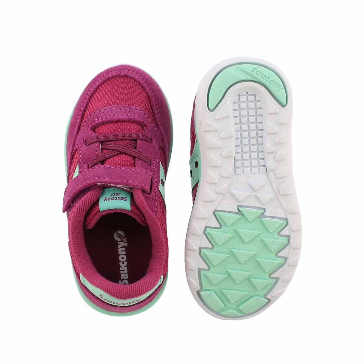 Infs-g Jazz Lite pnk/turq sneaker- wide