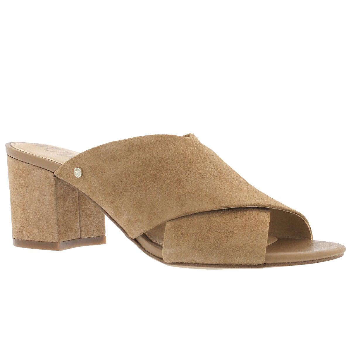 Women's STANLEY oatmeal slide dress sandals