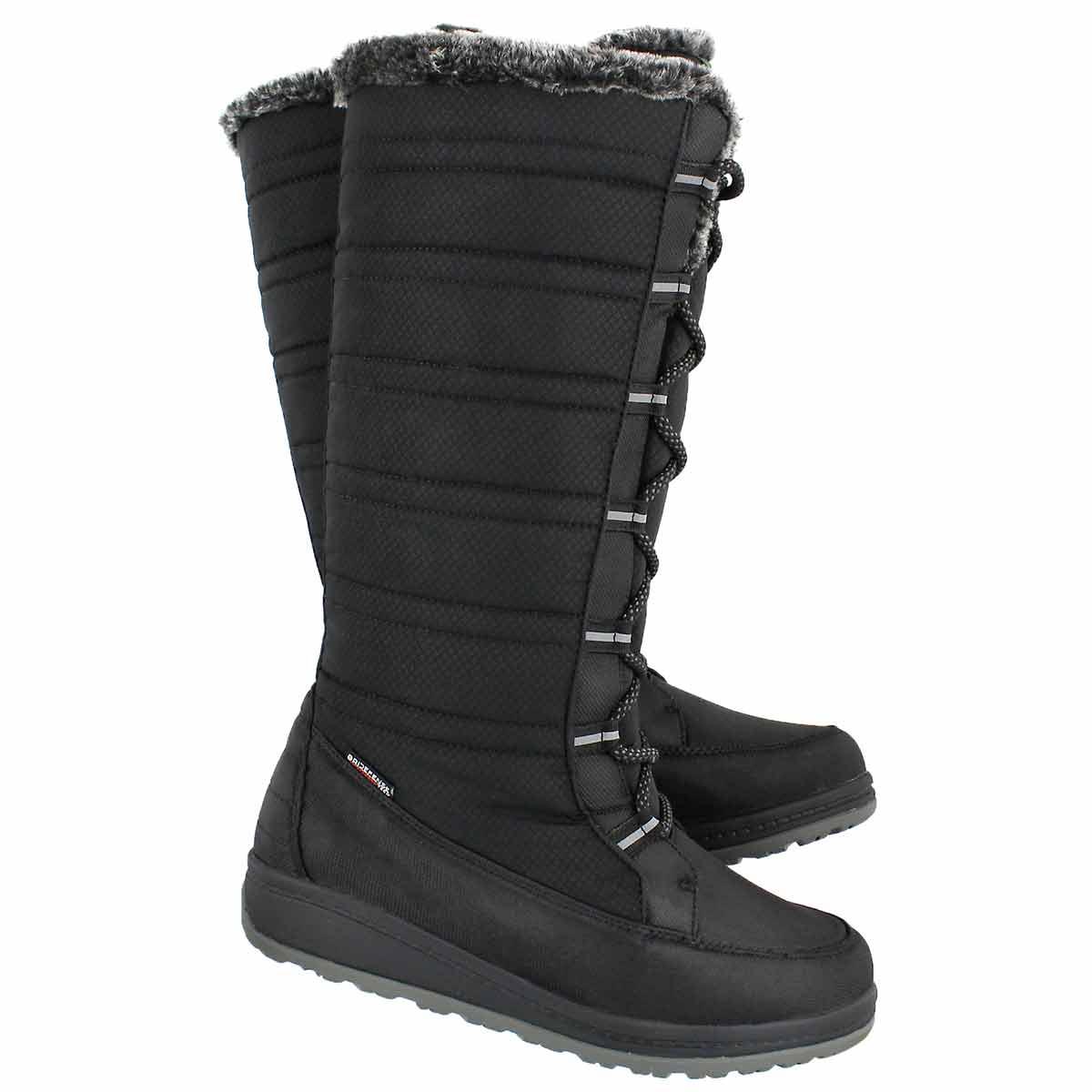 Lds Starling black wtpf winter boot