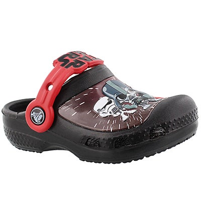 Crocs Boys' STAR WARS DARTH VADER black EVA clogs