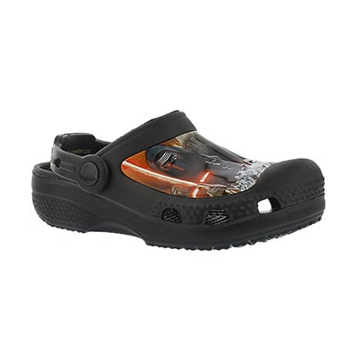 Crocs Boys' STAR WARS black comfort Character Clogs