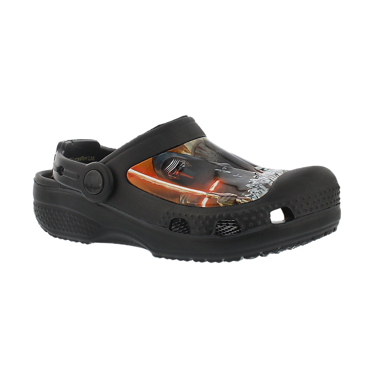 Boys' STAR WARS black comfort Character Clogs