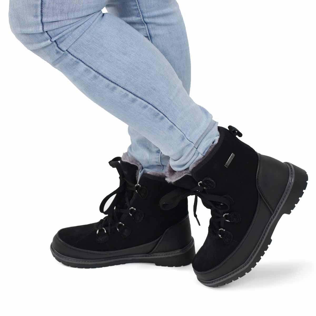 Lds Stephanie black wtpf wntr boot