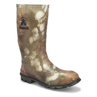 Bys Stompcamo waterproof rain boot
