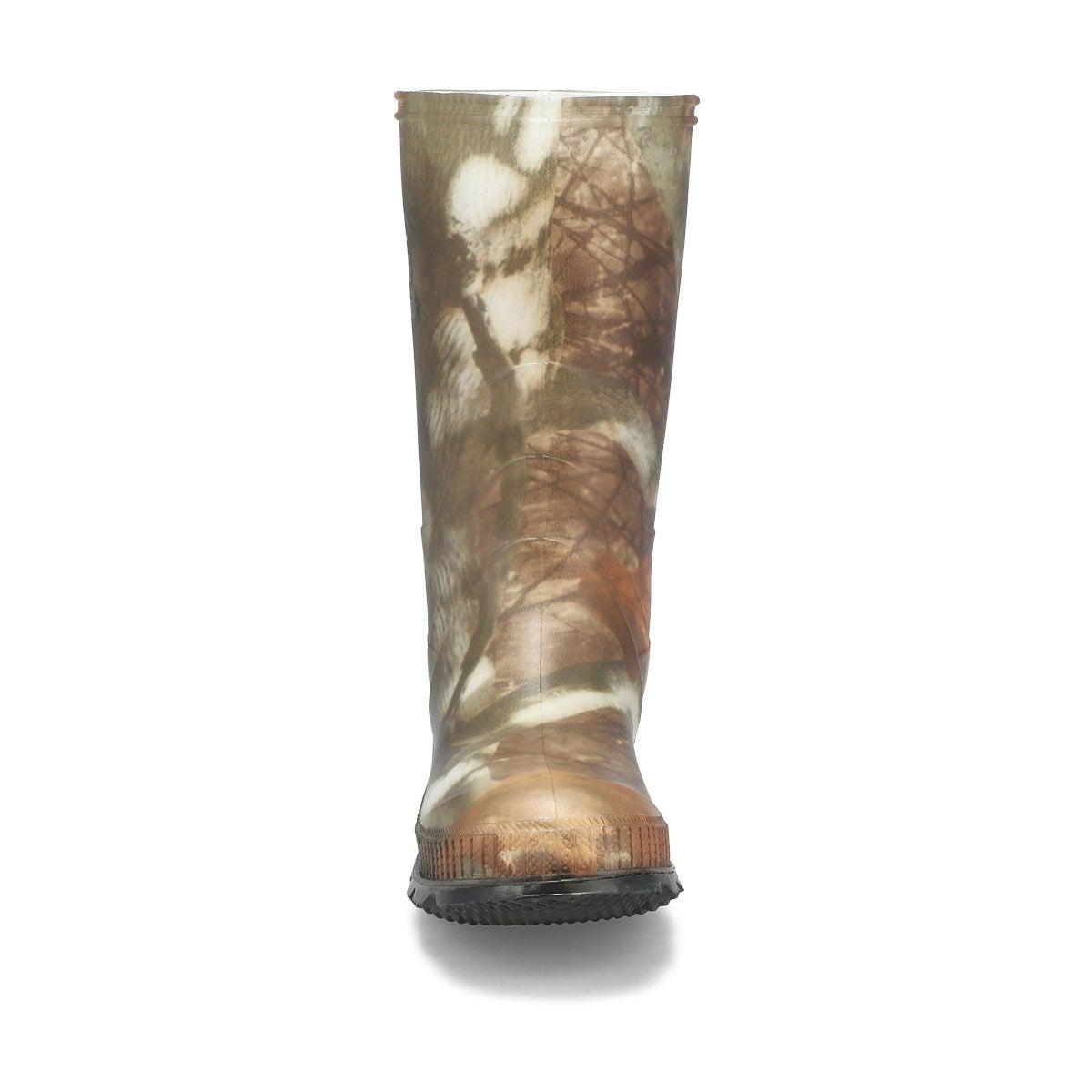 Bys Stompcamo waterproof rain boot