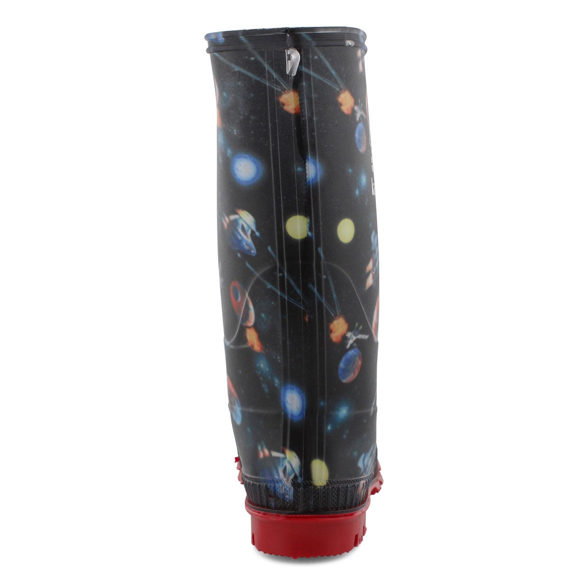 Bys Stompspace blk/mlti wtpf rain boot