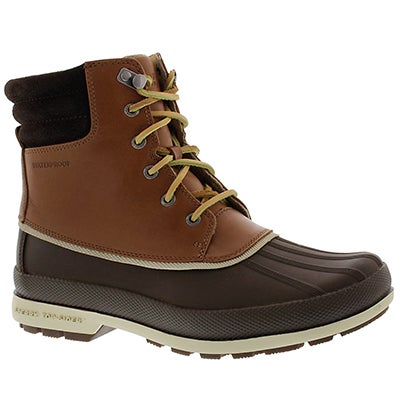 Sperry Men's COLD BAY brown waterproof boots