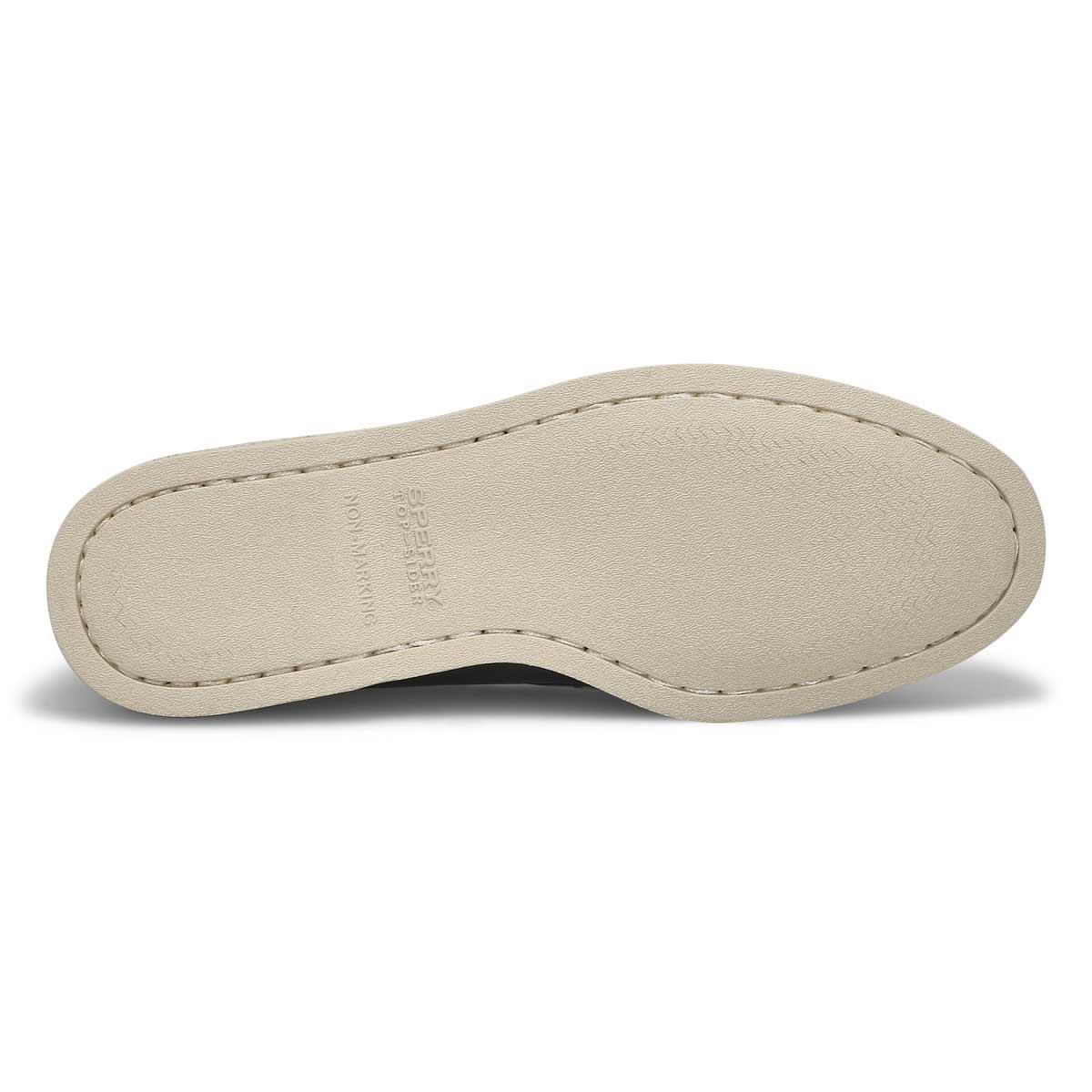 Mns A/O 2-eye navy boat shoe