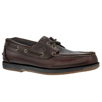 Sperry Men's CHARTER 2-Eye amaretto boat shoes