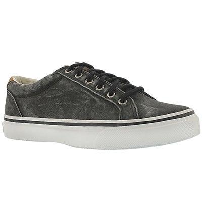 Sperry Men's STRIPER LTT black canvas sneakers