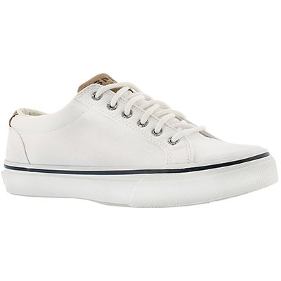 Sperry Men's STRIPER LTT white canvas sneakers