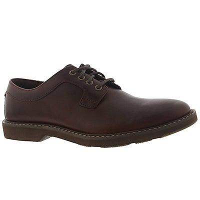 Sperry Men's COMMANDER tan lace-up shoes