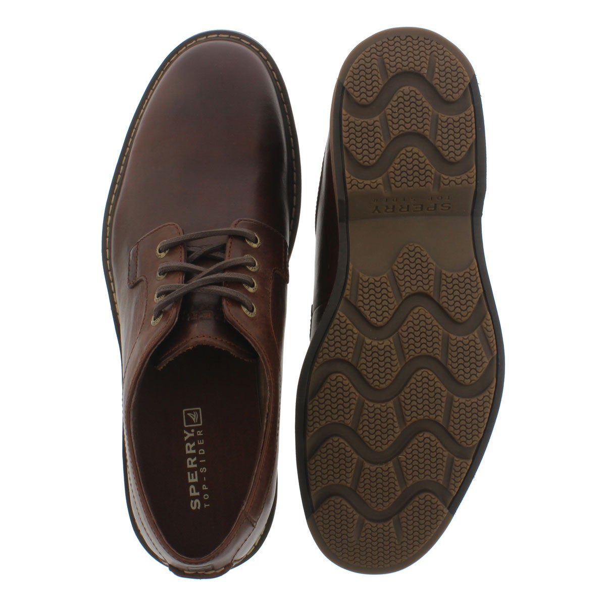 Mns Commander tan lace-up shoe