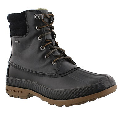 Sperry Men's COLD BAY black winter boots