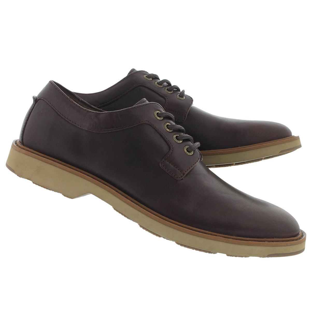 Mns Commander oxblood lace-up shoe