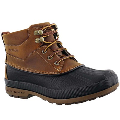 Bottines Gold Bay tan/noir, hommes