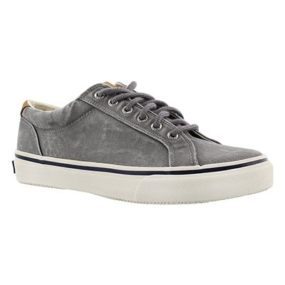 Mns Striper LTT grey lace up sneaker