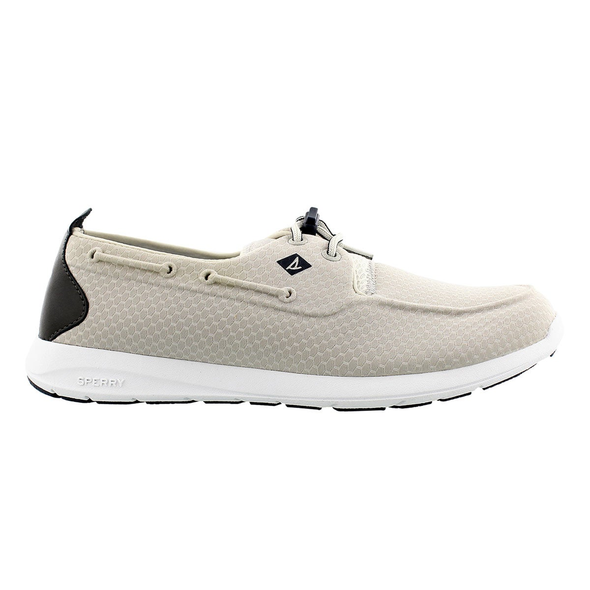 Mns Sojourn silver molded mesh sneaker