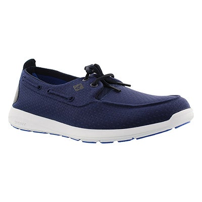 Sperry Men's SOJOURN navy molded mesh sneakers