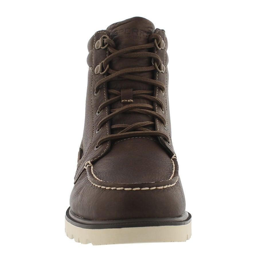 Mns A/O Lug Boot dk brn waterproof boot