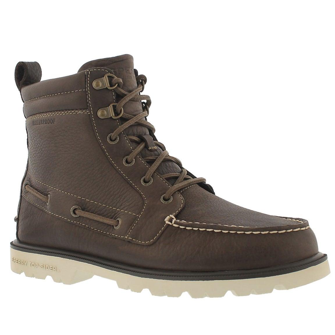 Botte imp. A/O Lug Boot, brun fonc�, hom