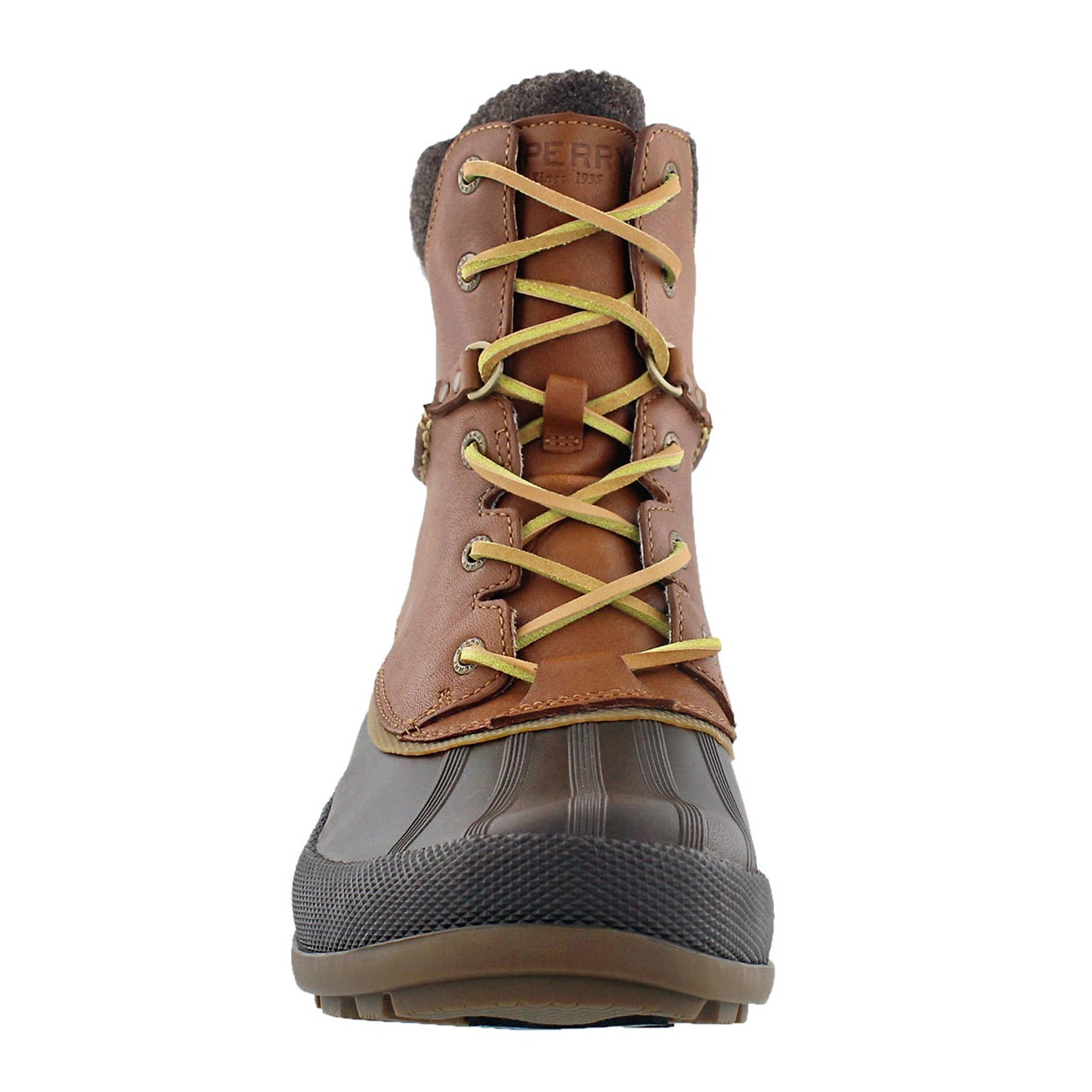 Mns Cold Bay tan lined lace up boot