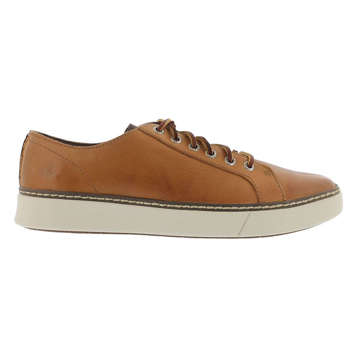 Mns Clipper LTT tan lace up sneaker