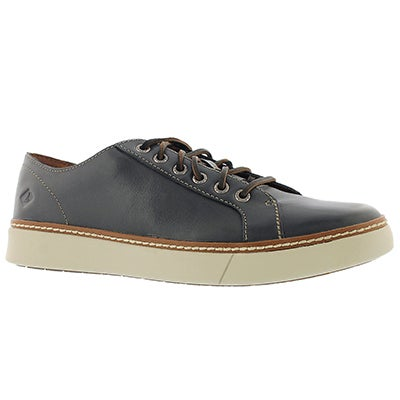 Sperry Men's CLIPPER LTT charcoal lace up sneakers