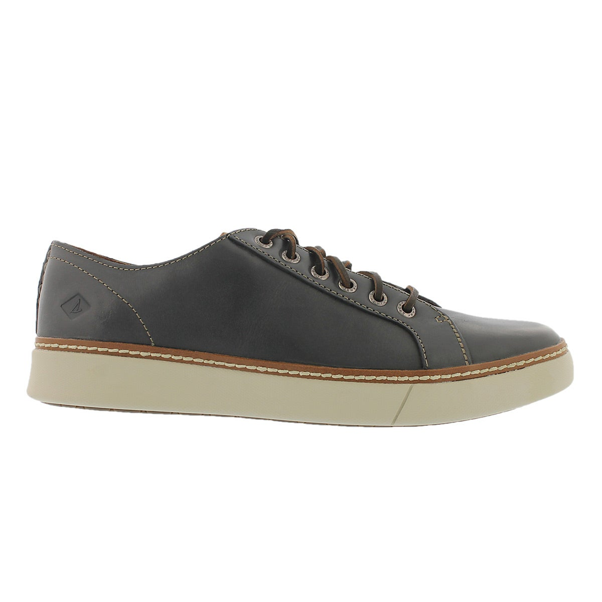 Mns Clipper LTT charcoal lace up sneaker