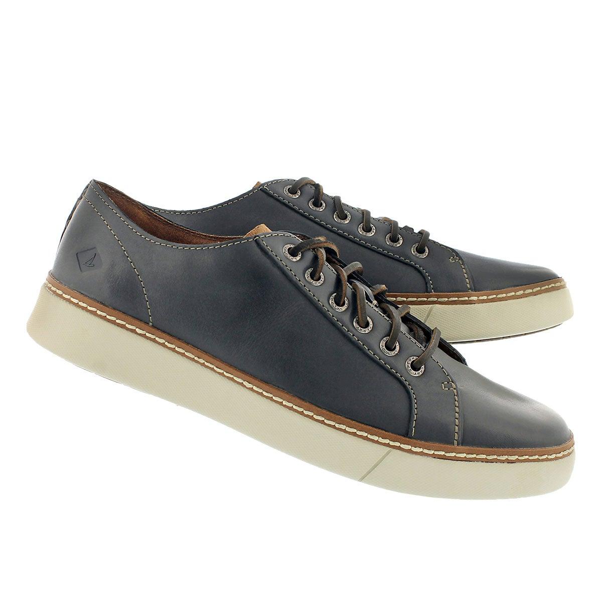 Mns Clipper LTT charcoal lace up sneaker