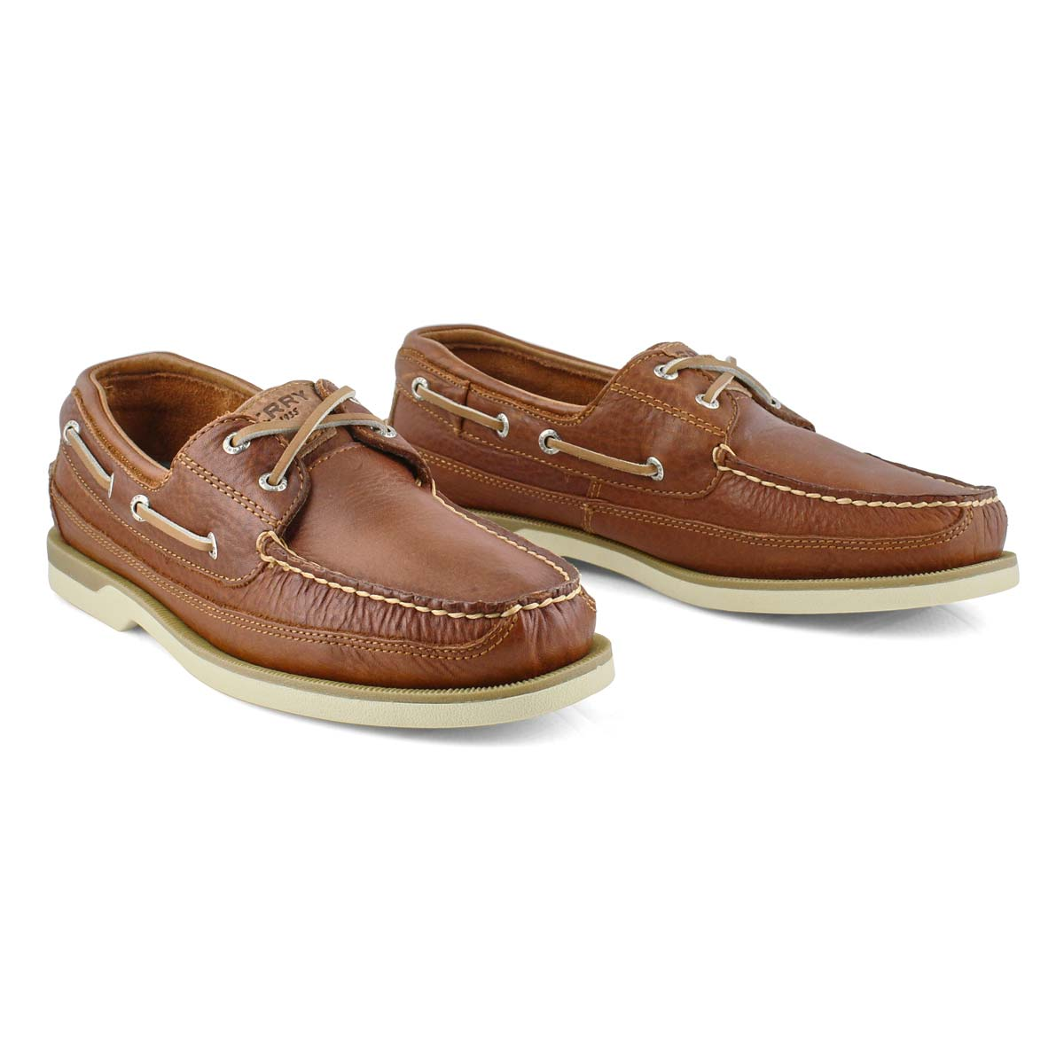 Mns Mako 2-eye Canoe Moc tan boat shoe