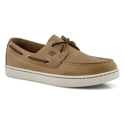 Mns Sperry Cup 2-Eye linen boat shoe