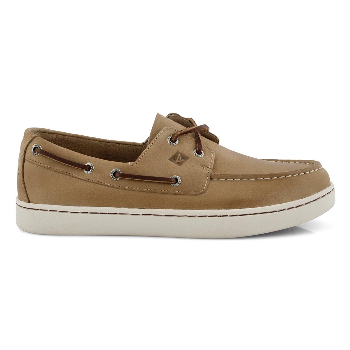 Mns Sperry Cup 2-Eye linen boat shoe