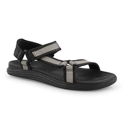 Mns Regatta blk 2 strap sandal