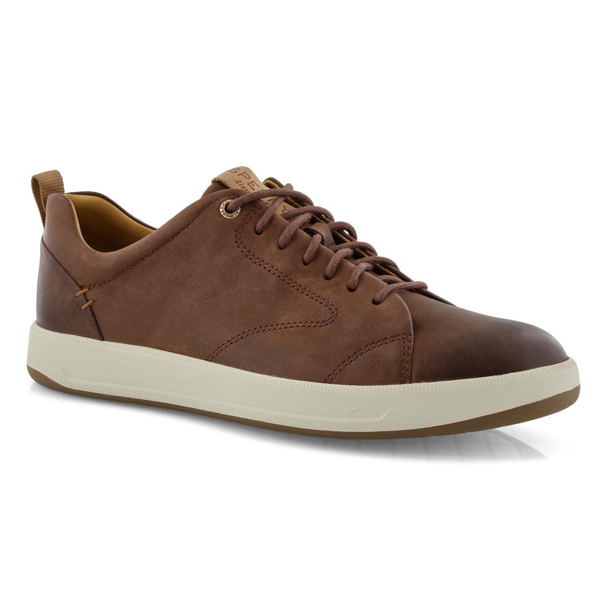 Mns Gold Richfield LTT brn boat shoe
