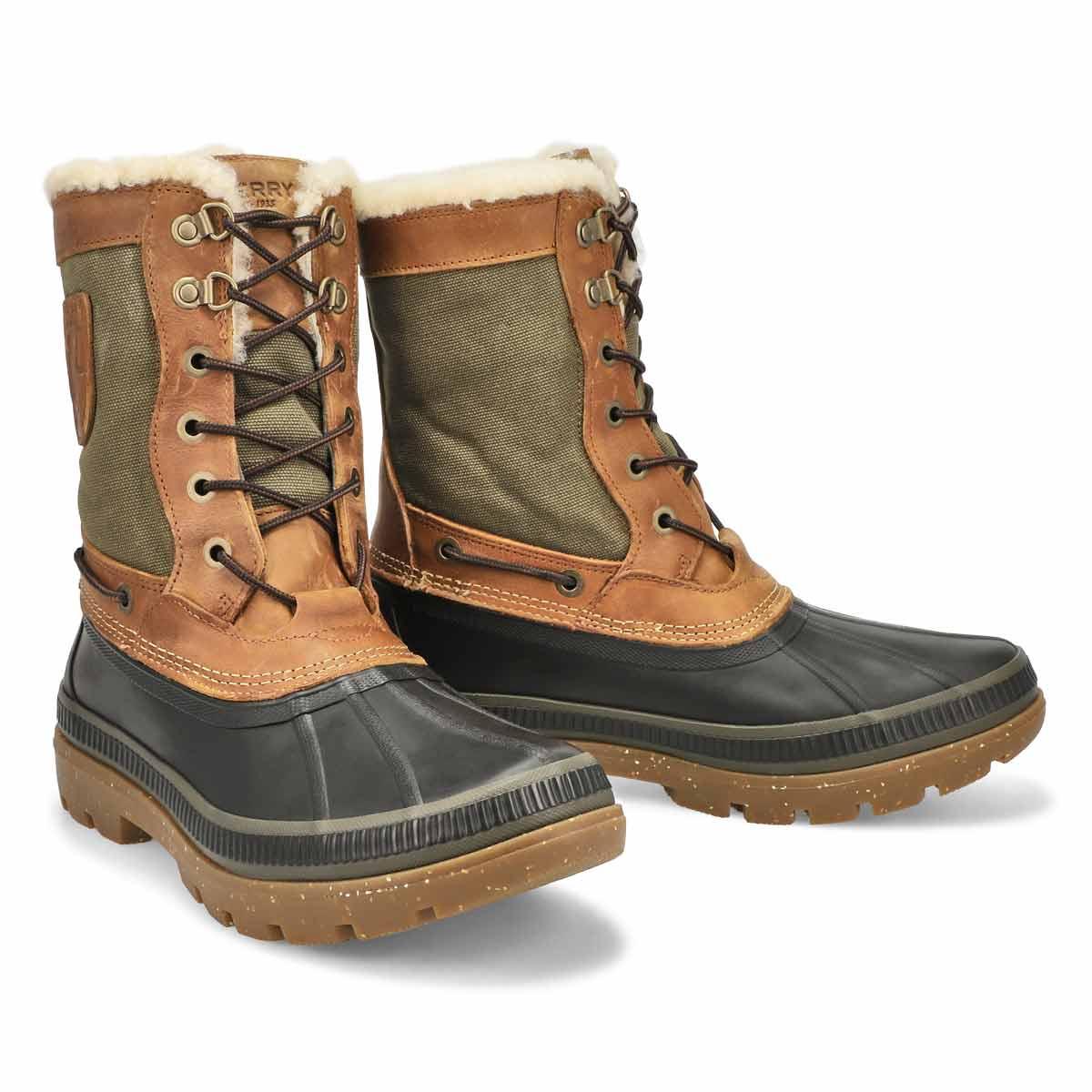 Mns IceBay Tall Boot brn/olv winter boot