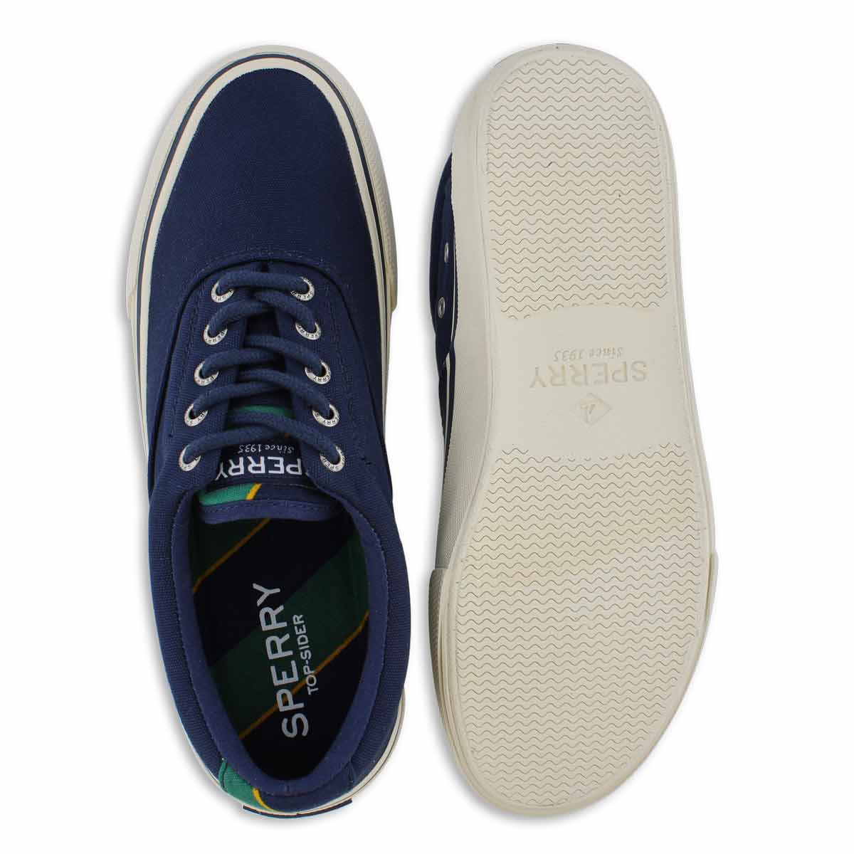 Men's STRIPER II CVO navy lace up sneaker